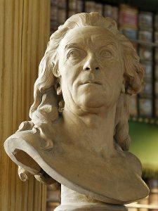 Buste de Buffon par Pajou