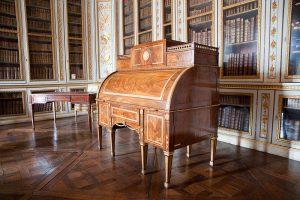 Bibliothèque de Louis XVI dans le Petit Appartement du Roi.