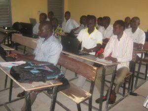 Formation Afripédia à l'université de Ndjamena