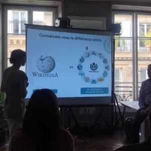 Présentation aux projets Wikimédia -  CC-BY 2.0 Louvre pour Tous