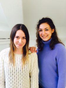 Manon Darcel et Lucie Broulou