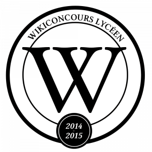 Logo du Wikiconcours lycéen.