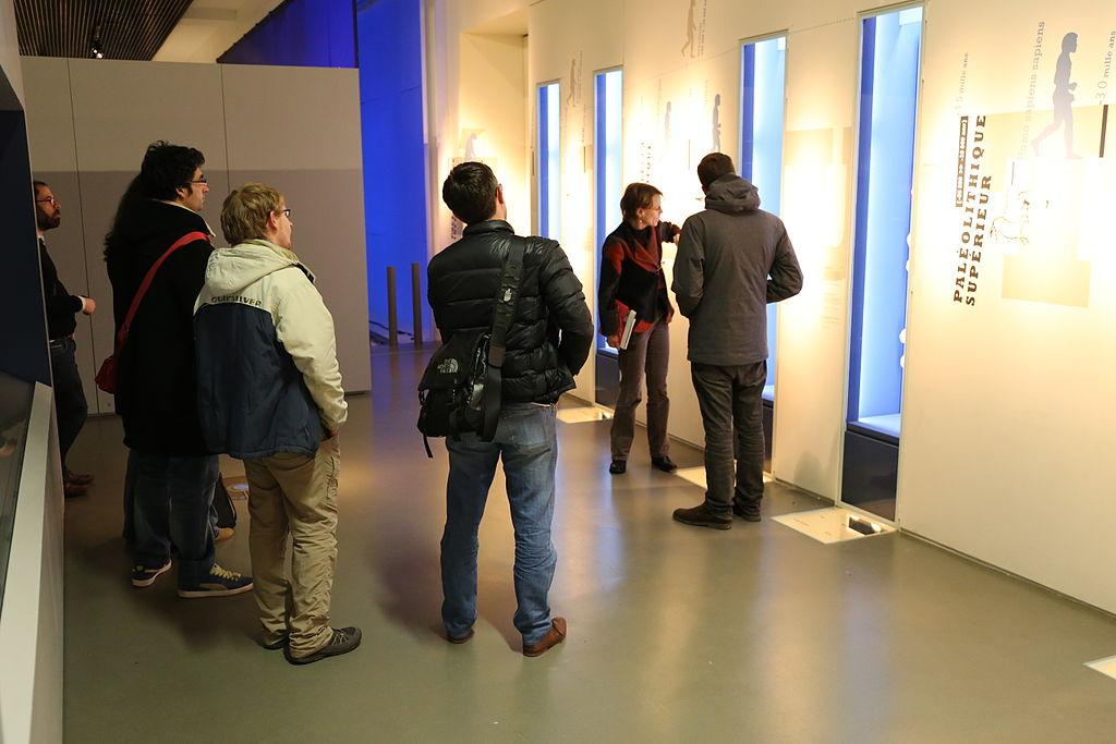 Wikipermanence au Musée de Bretagne, janvier 2015 - Trizek, CC BY-SA 3.0
