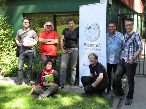 Wikimédiens durant l'éditathon à Brest, par Filyg, CC-BY-SA