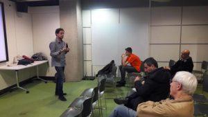 Présentation de Lingua Libre à la Ubuntu party samedi 12 novembre