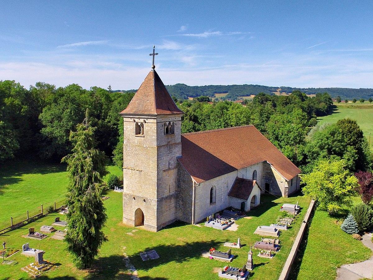7e photo gagnante : Brémondans, l'église de Leugney, par JGS25