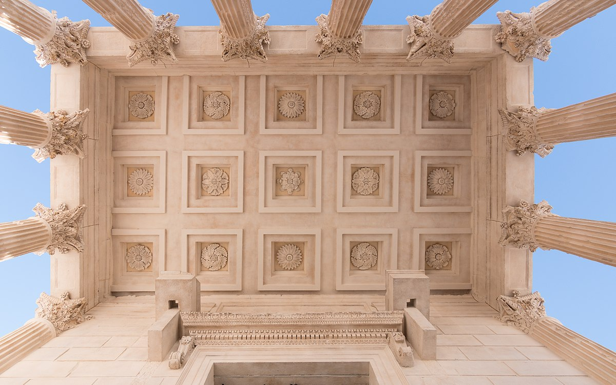 5e photo gagnante : Maison Carrée, par Martin Kraft