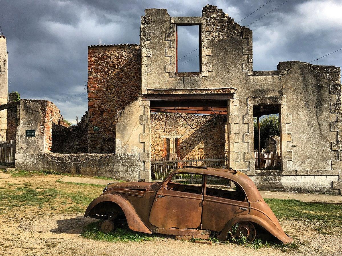 1ere photo gagnante : Village martyr d'Oradour-sur-Glane par Davdavlhu