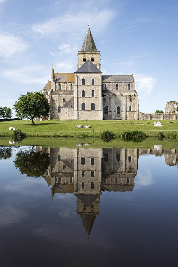 2eme photo gagnante : Abbaye de Cerisy-la-Forêt par Selbymay