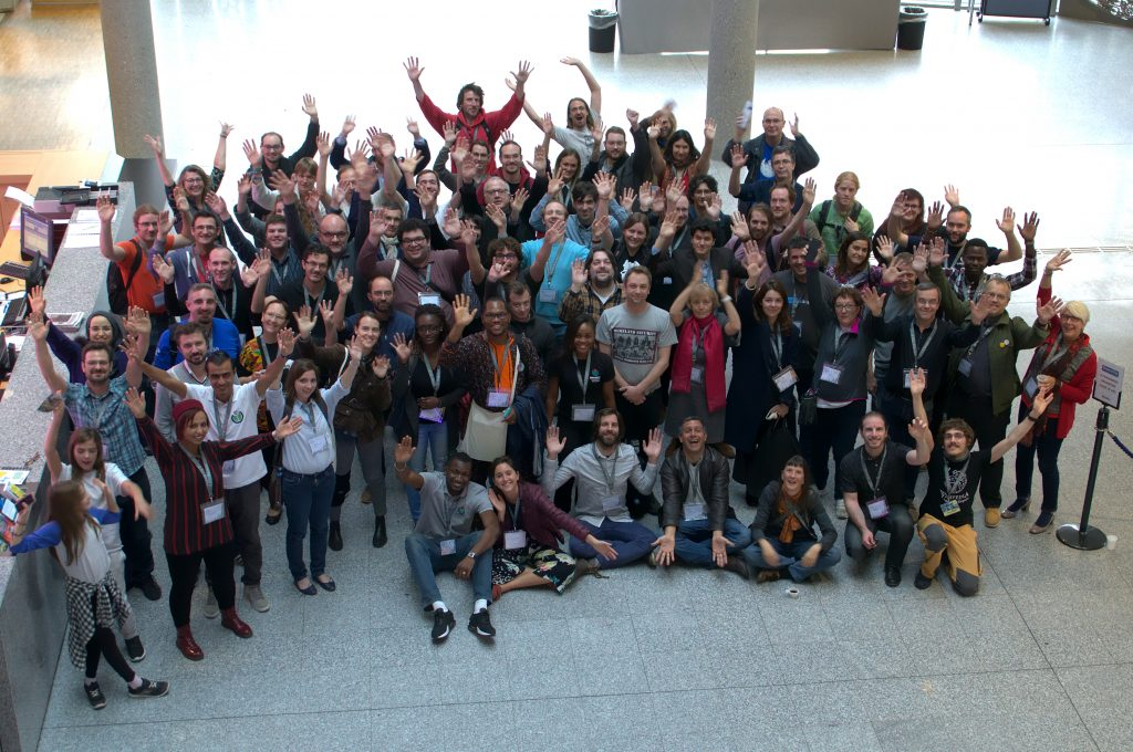 Photo du groupe Wikiconvention francophone 2017