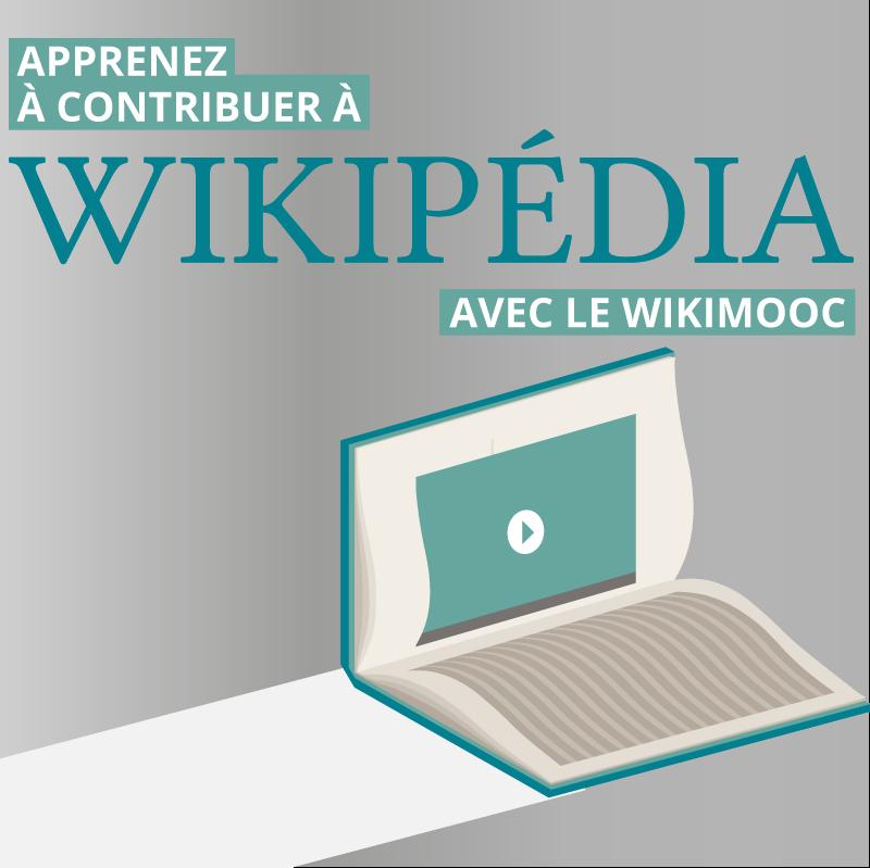 Apprenez à contribuer à Wikipédia avec le WikiMOOC
