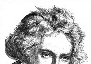 Droit d'auteur, filtres de contenu et Beethoven (gravure de E. E. Sachse issue du domaine public)