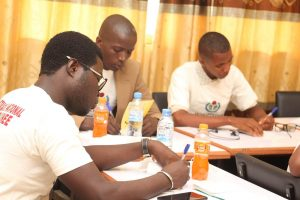 participant du Salon Stratégique National Wikimedia Guinée