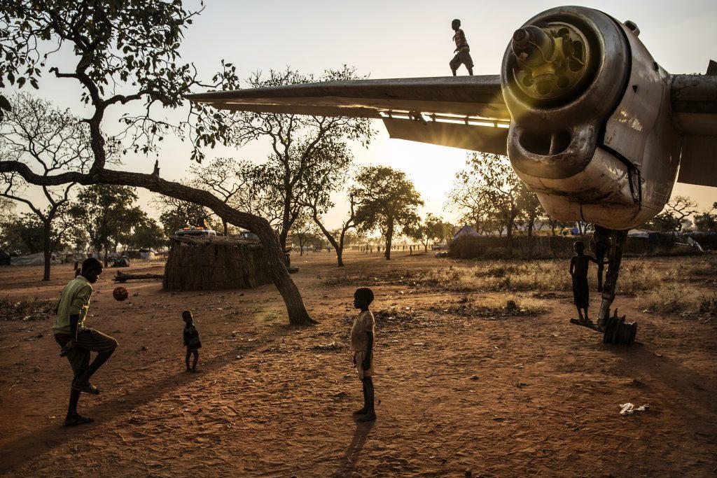 Enfants du camps de réfugiés de Yida. Sud Soudan. 1er prix Wiki Loves Africa 2019. Auteur: Marco Gualazzini