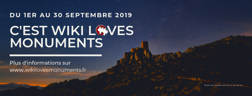 Wiki Loves Monuments France 2019