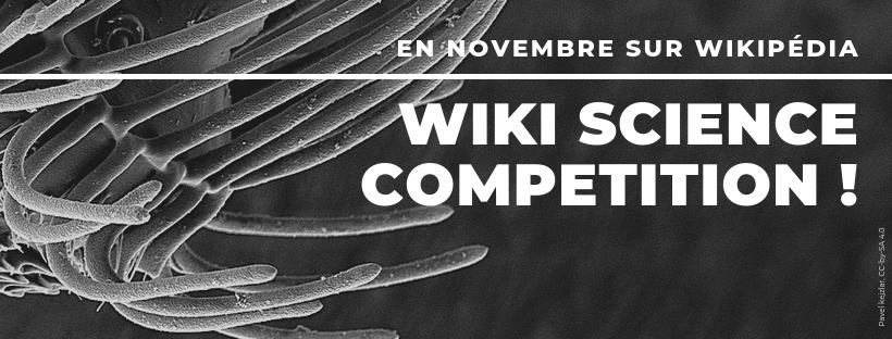 concours photos dédié à la science - Wiki Science Competition