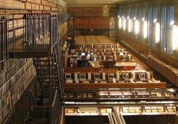 Grande salle de lecture de la BIU santé, pôle médecine / odontologie. BIUM (CC BY-SA 3.0)