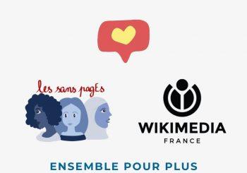 Wikimédia France et les sans pagEs, ensemble pour plus de diversité !