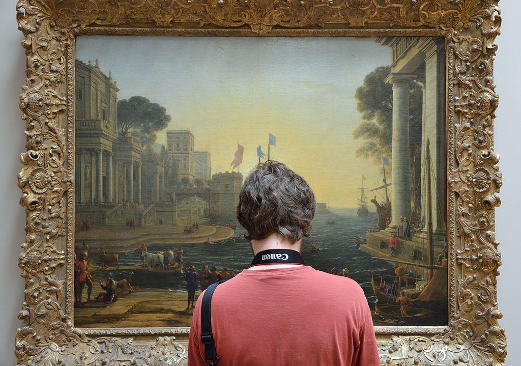 Wikimédien en face de Ulysse remet Chryséis à son père, tableau de Claude Gelée