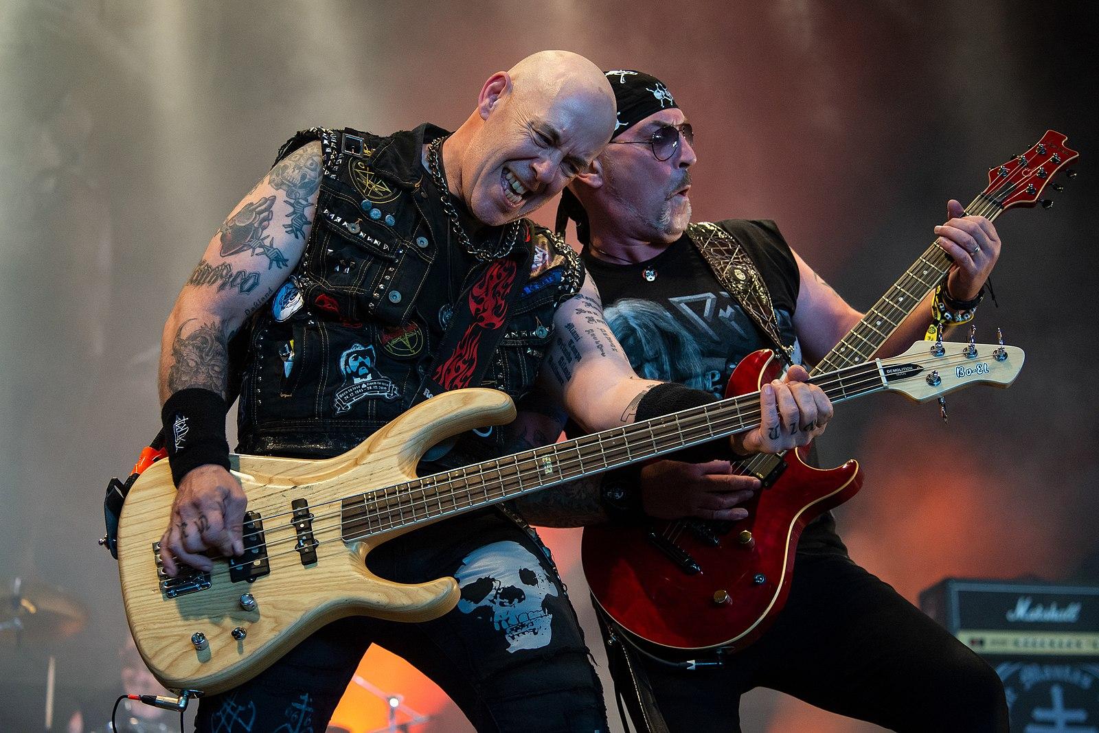 Concert du groupe Venom Inc. au Hellfest 2019.