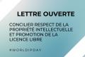 Concilier respect de la propriété intellectuelle et promotion de la licence libre