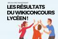Lauréats du Wikiconcours lycéen 2019-2020
