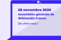 Une assemblée générale 100% en ligne