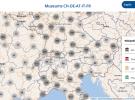 carte géographique des musées