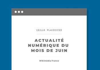 Veille numériqaue du mois de juin 2021